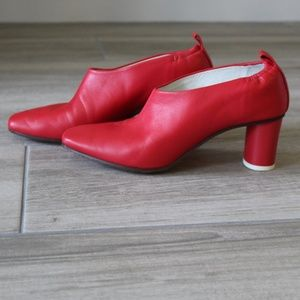 Micol Pumps Rosso Fragola (Strawberry Red)